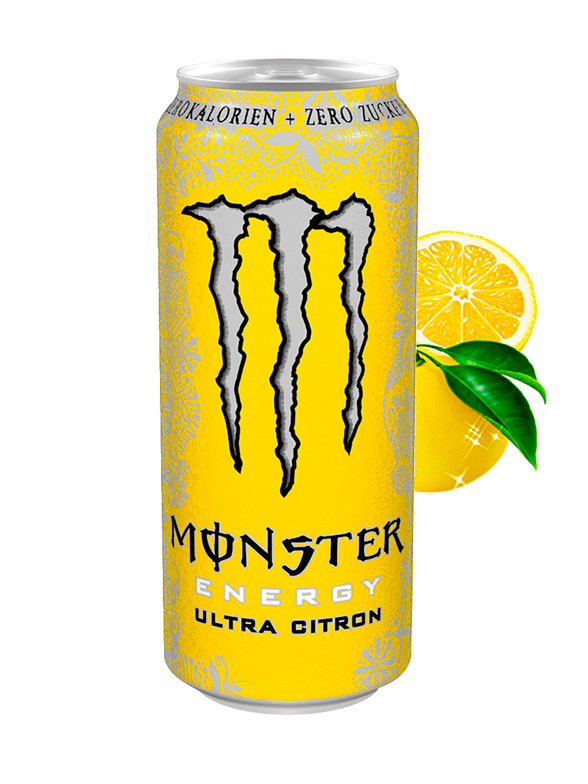Monster ZERO Ultra Citron 500 ml