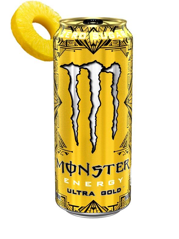 Monster ZERO Ultra GOLD   USA 473 ml.