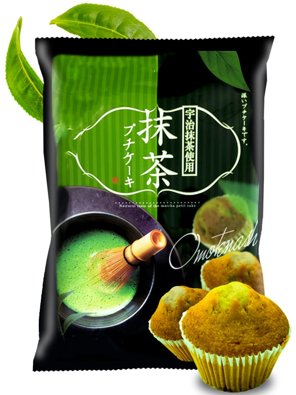 Mini Muffins de Té Verde Uji Matcha Japonés   204 grs