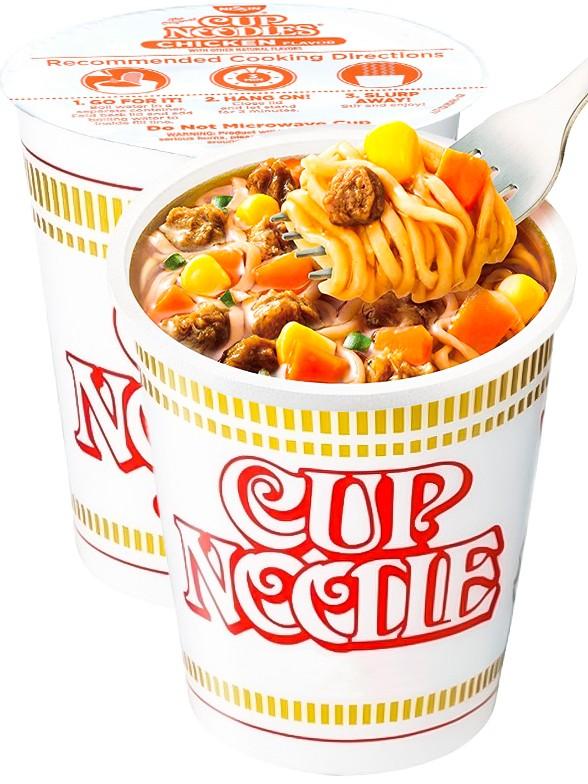 Nissin Cup Noodles Original Ternera 64 grs.
