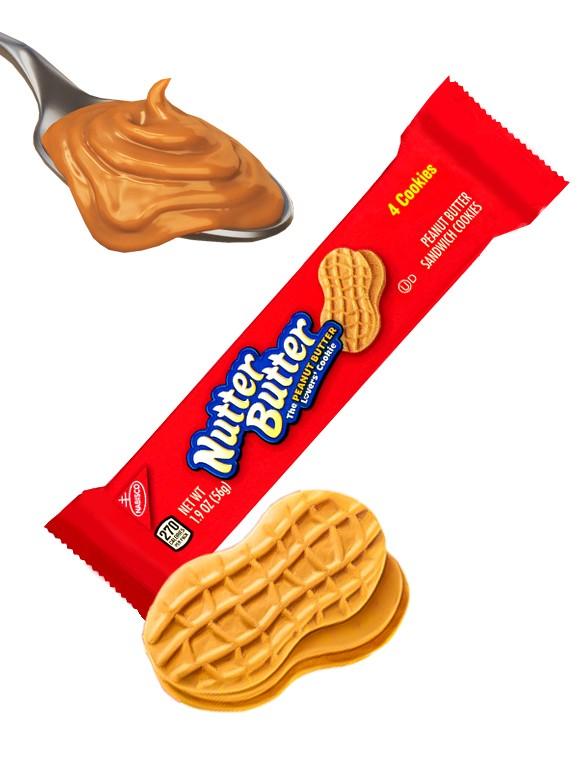 Galletas de Crema de Cacahuete | Nutter Butter