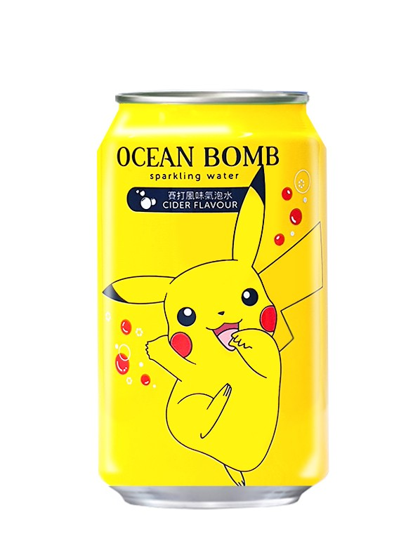 Agua Soda Sabor Ramune | New Edición Pokemon 330 ml