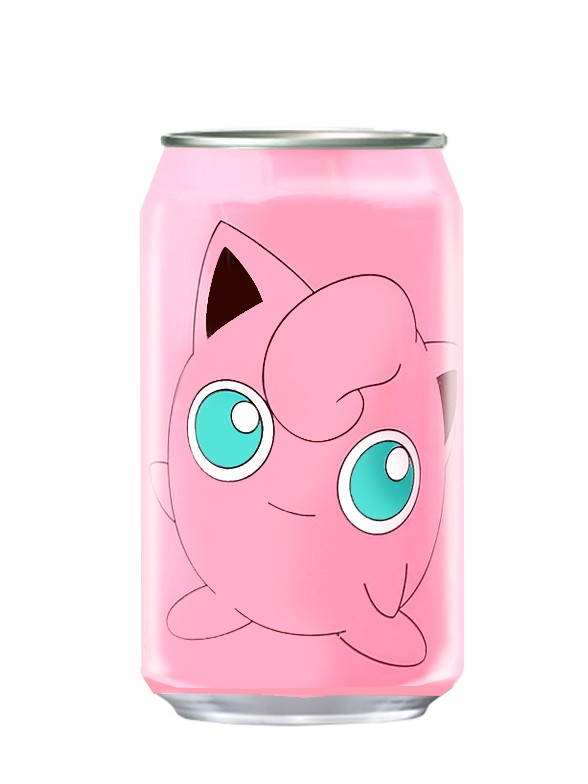 Agua Soda Sabor Melocoton Momo | New Edición Pokemon 330 ml