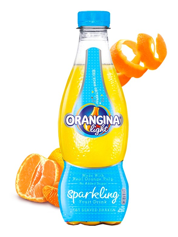 Refresco Orangina Light Sparkling | 420 ml