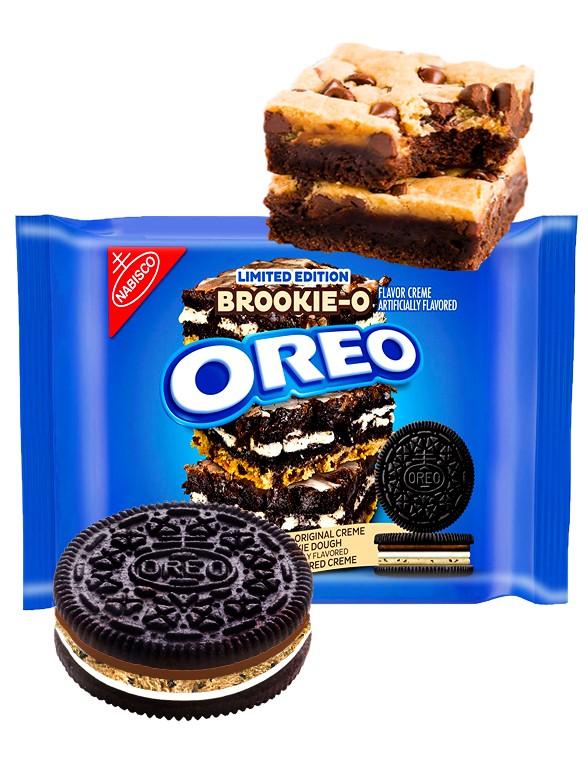 Oreo Brownie & Cookie   Triple Crema 374 grs