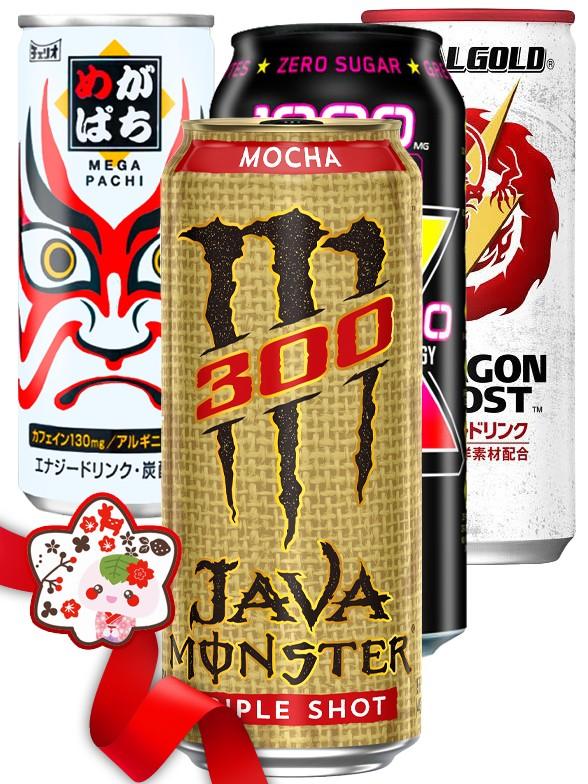 JaponShop Premium Box Energeticas   Top Hits Gift Selection