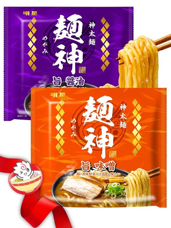JaponShop Ramen Futo-men Shinta   Top Hits Gift Selection