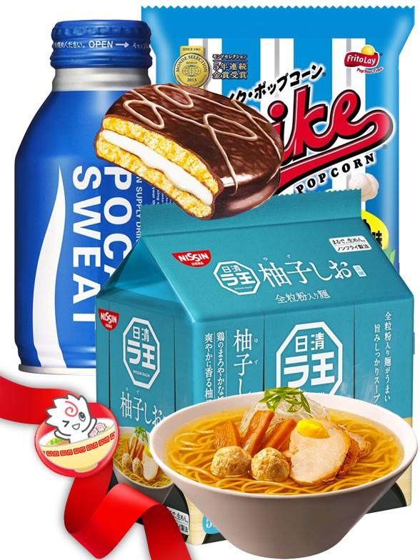 JaponShop Blue Box Ramen   Top Hits Gift Selection