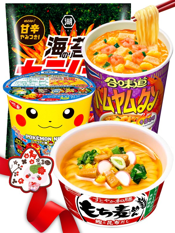 JaponShop Pokemon Star Box Ramen | Top Hits Gift Selection