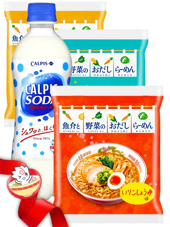 JaponShop Itomen Box Ramen   Top Hits Gift Selection