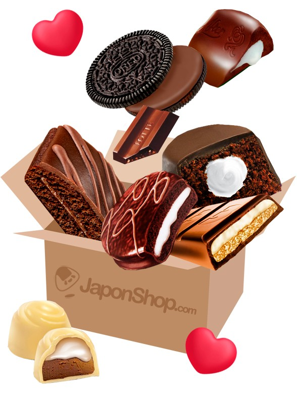 JAPONSHOP San Valentin Chocolate Party PackBox | Pedido GRATIS!