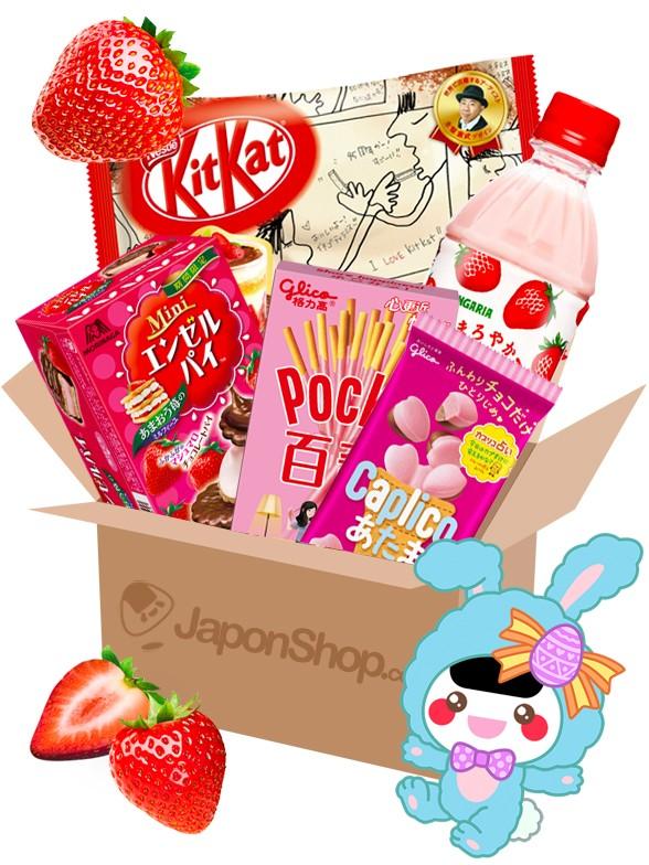 JAPONSHOP Caja Sorpresa Love Fresa