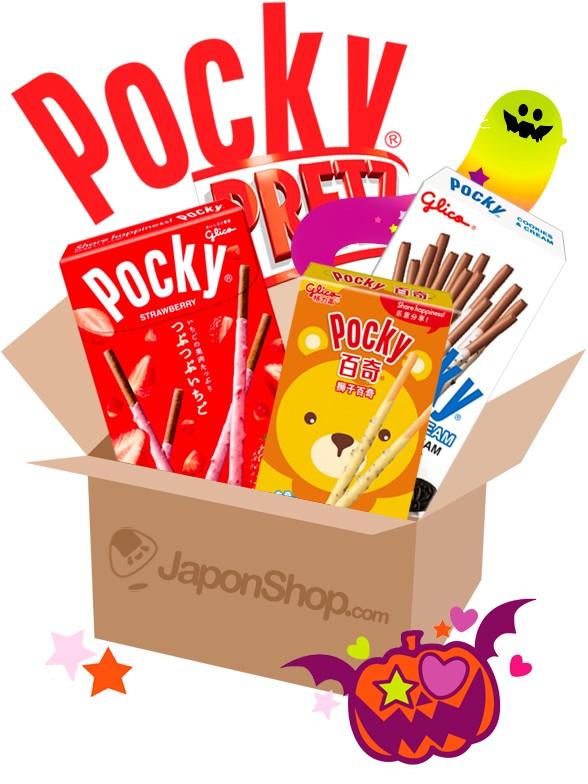 HAPPY TREAT Halloween Pocky Caja Sorpresa | Gift
