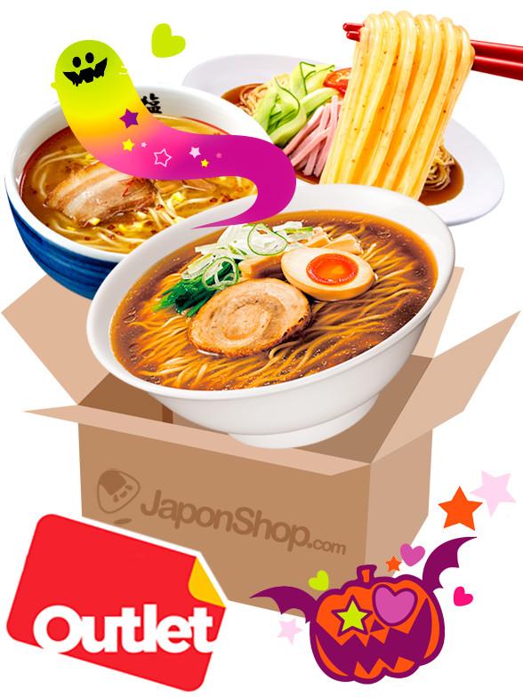 JAPONSHOP TREAT MEGA Outlet Ramen Caja Sorpresa | Pedido GRATIS!