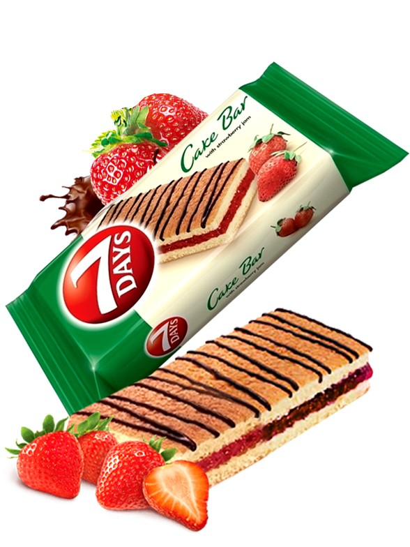 Pastelito de Mermelada de Fresa y Chocolate | Combini 7 Days 30 grs