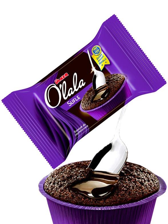 Cupcake Sufle de Chocolate relleno Crema de Cacao 70 grs