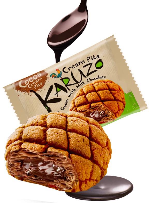 Bollo estilo Meron Pan de Cacao con Chocolate con Leche 62 grs