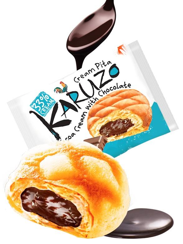 Bollo estilo Meron Pan con Chocolate con Leche 62 grs