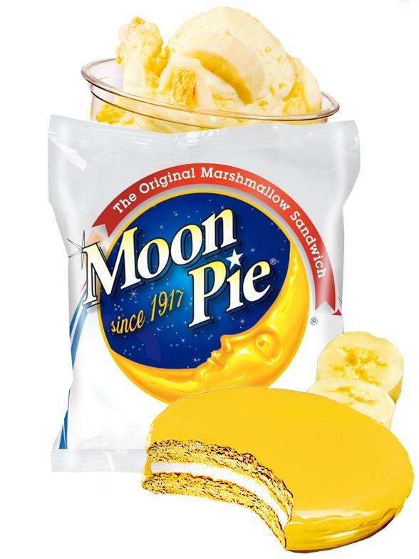 Pastelito Moonpie de Marshmallow y Banana 78 grs.