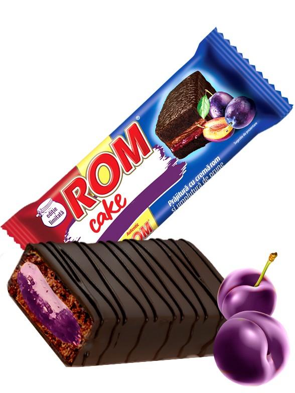 Pastelito de Chocolate con Crema de Ron y Mermelada de Ciruela 35 grs | Edición Limitada