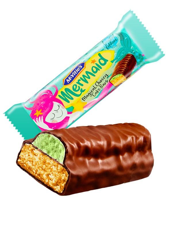 Bizcocho Sirenita con Nata Cubierto de Chocolate | 22 grs. | Pedido GRATIS!