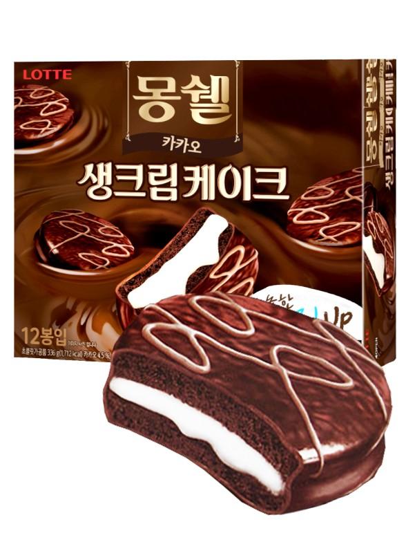 Choco Pie Receta Ganache Cacao Royale   Jumbo Pack 12 Uni.