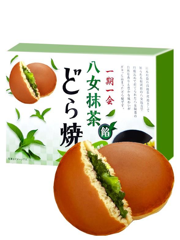 Mini Dorayakis de Crema de Matcha | Pack 160 grs.