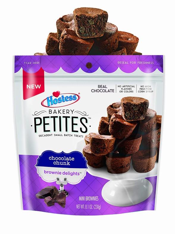 Mini Brownies con Pepitas de Chocolate | Twinkies Petit Bakery 230 grs