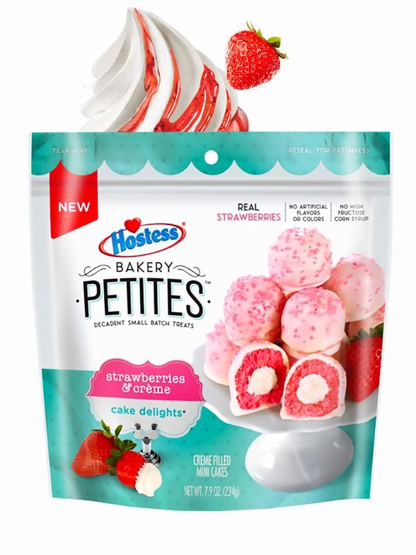 Mini Pastelitos de Fresa y Nata | Twinkies Petit Bakery 224 grs