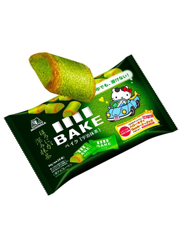 Bocaditos Brownie de Choco Blanco y Matcha Uji   Edic. Hello Kitty 32 grs.