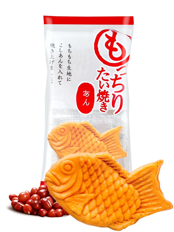 Pasteles Taiyakis de Azuki   2 Unidades   70 grs.
