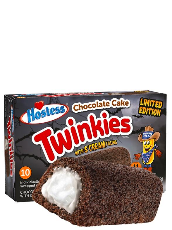 Pasteles Twinkies de Chocolate con relleno de Crema de Vainilla | 10 Unds. Edic. Halloween