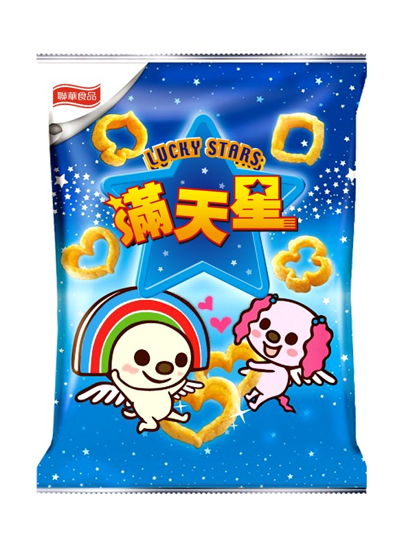 Snack de Patata Lucky Kawaii Stars 40 grs.