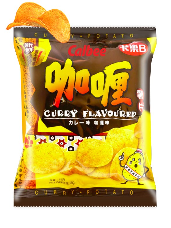 Patatas Chips Calbee Curry