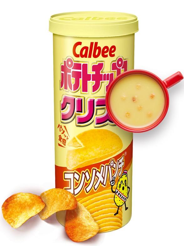 Patatas Crujientes sabor Consomé 115 grs | Pedido GRATIS!