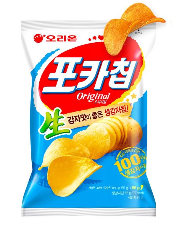 Patatas Chips Coreanas 66 grs.