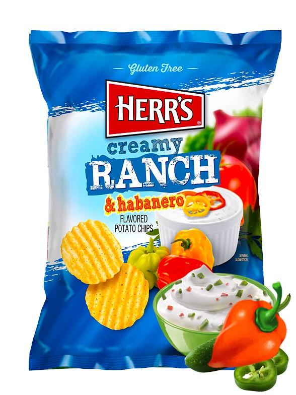 Patatas Onduladas sabor Salsa Ranchera con Habanero 184 grs.   Pedido GRATIS!