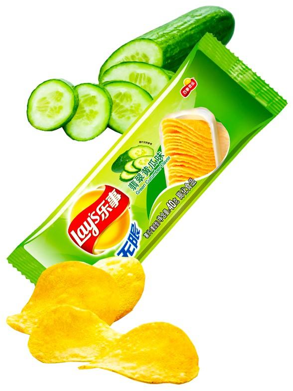 Patatas Lays Sabor Pepino | Asia Recipe Pocket 40 grs
