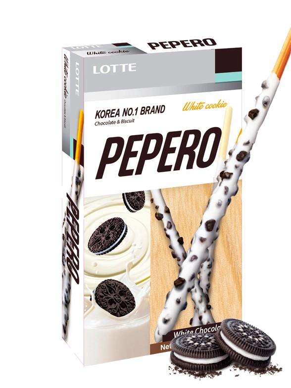 Pepero Lotte Cookies & Cream 32 grs