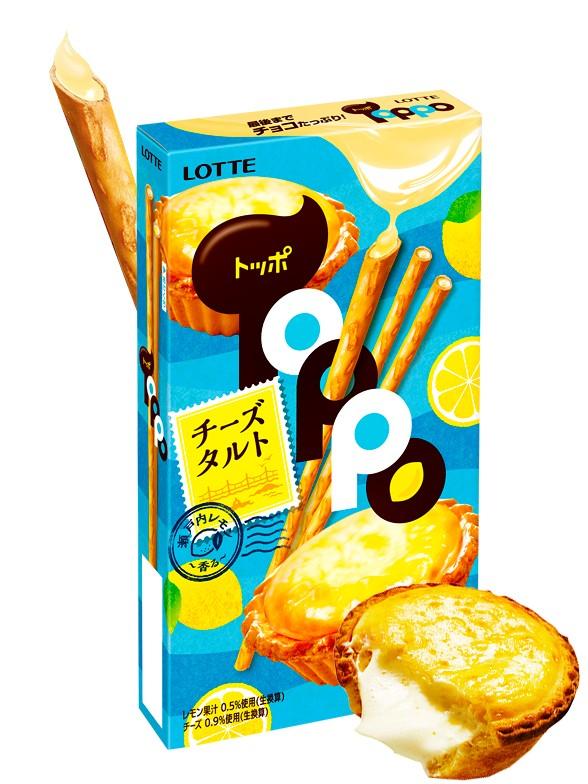 Sticks Toppo Tarta de Queso al Limón | 72 grs.