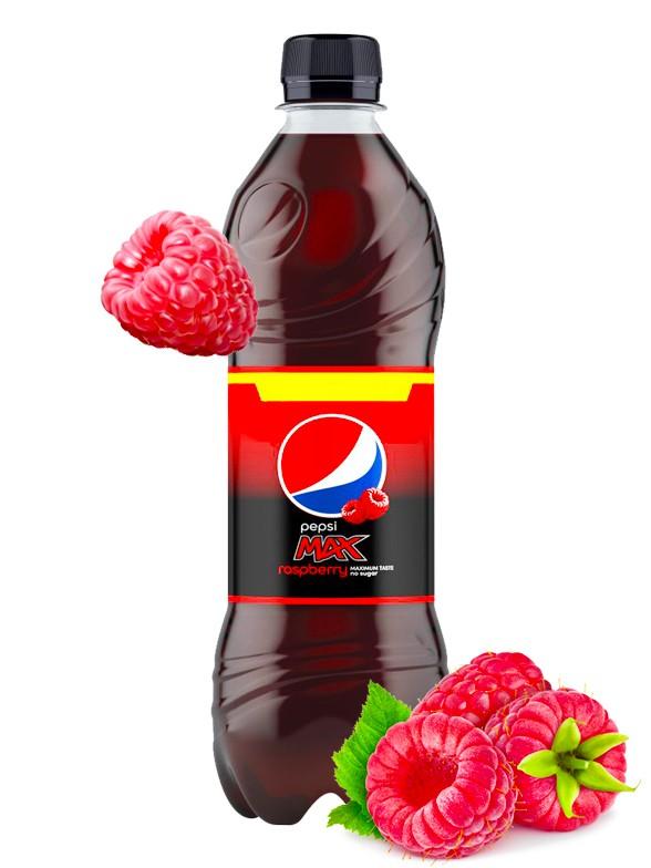 Pepsi MAX Sin Azúcar Frambuesa 500 ml | Pedido GRATIS!
