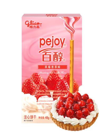 Pocky Pejoy de Tarta de Fresas y Vainilla   Edit. Patisserie