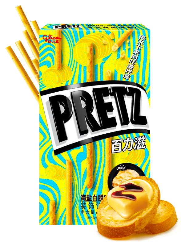 Sticks Pretz Ultra Mantequilla | Nuevo Diseño | 65 grs