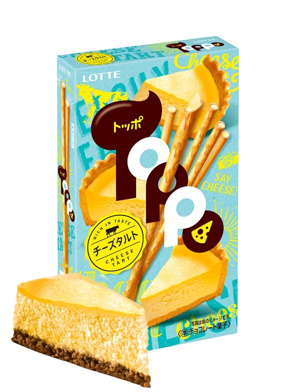 Sticks Toppo Tarta de Queso 72 grs