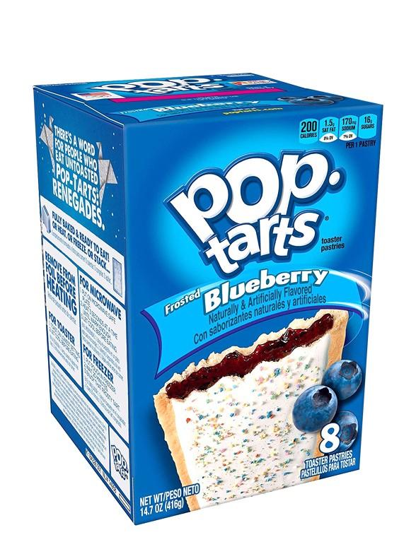 Pop Tarts Frosted Arándanos | 8 Unidades