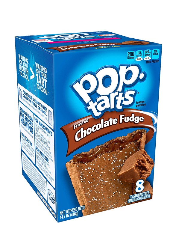 Pop Tarts de Chocolate Fundido y Glaseado de Chocolate.   Pedido GRATIS!