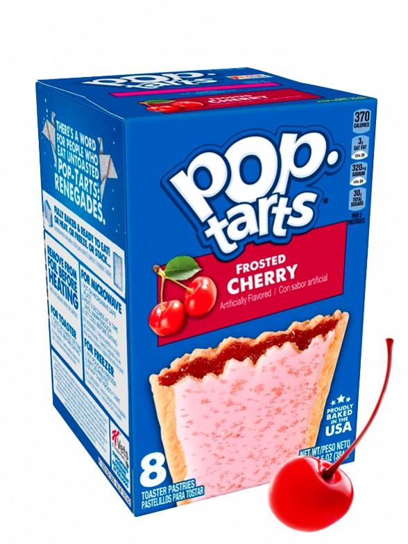 Pop Tarts Frosted Cereza   8 Unidades   Pedido GRATIS!