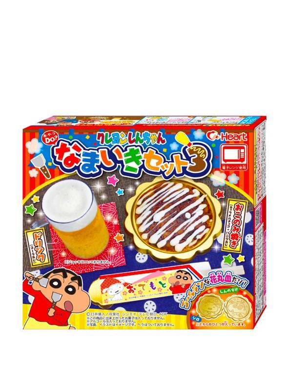 Kit DIY Merienda Okonomiyaki de Shin Chan | Refresco incluido