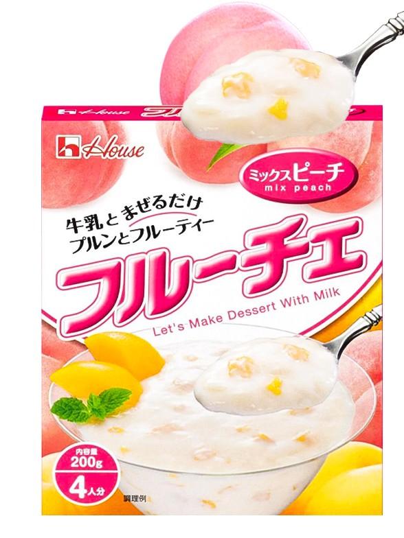 Postre Japonés Fruché Doble Momo 200 grs