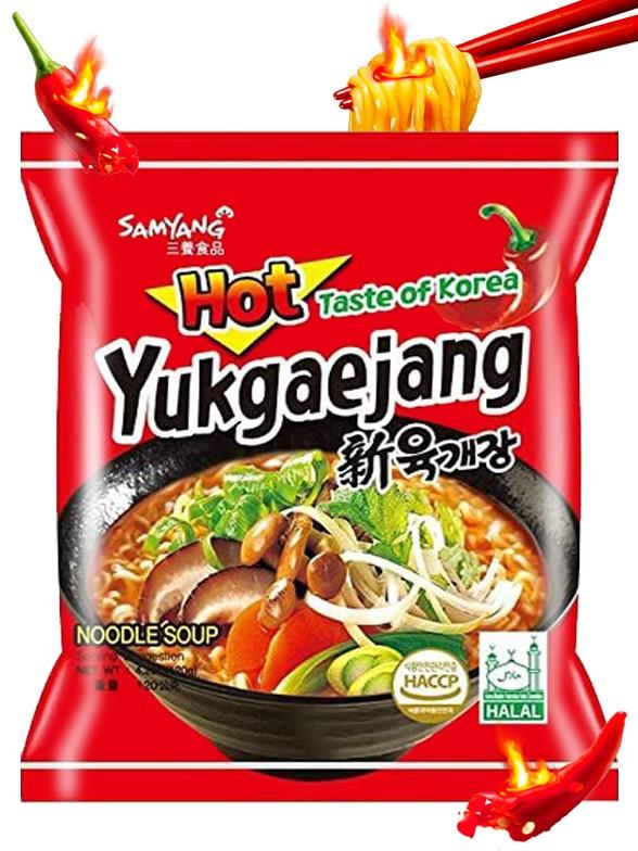 Ramen Coreanos Estofado de Setas y Carne 120 grs